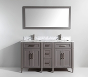 Vanity Art - Bathroom Vanity Set - VA2060DG - Grey