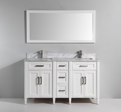 Vanity Art - Bathroom Vanity Set - VA2060DW - White