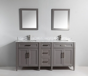 Vanity Art - Bathroom Vanity Set - VA2072D-G - Grey