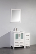 Vanity Art - Bathroom Vanity Set - VA3024-36W - White