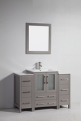 Vanity Art - Bathroom Vanity Set - VA3024-48G - Grey