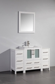 Vanity Art - Bathroom Vanity Set - VA3024-48W - White