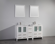 Vanity Art - Bathroom Vanity Set - VA3024-60W - White