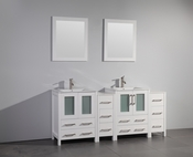 Vanity Art - Bathroom Vanity Set - VA3024-72W - White