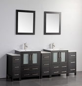 Vanity Art - Bathroom Vanity Set - VA3024-84E - Espresso