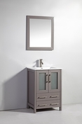 Vanity Art - Bathroom Vanity Set - VA3024G - Grey
