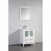 Vanity Art - Bathroom Vanity Set - VA3024W - White