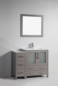Vanity Art - Bathroom Vanity Set - VA3030-42G - Grey