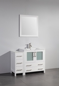 Vanity Art - Bathroom Vanity Set - VA3030-42W - White