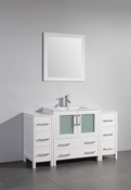 Vanity Art - Bathroom Vanity Set - VA3030-54W - White