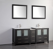 Vanity Art - Bathroom Vanity Set - VA3030-72E - Espresso