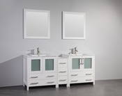Vanity Art - Bathroom Vanity Set - VA3030-72W - White