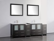 Vanity Art - Bathroom Vanity Set - VA3030-84E - Espresso