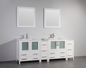 Vanity Art - Bathroom Vanity Set - VA3030-84W - White