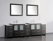 Vanity Art - Bathroom Vanity Set - VA3030-96E - Espresso