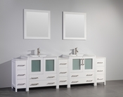 Vanity Art - Bathroom Vanity Set - VA3030-96W - White