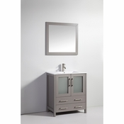Vanity Art - Bathroom Vanity Set - VA3030G - Grey