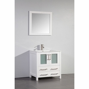 Vanity Art - Bathroom Vanity Set - VA3030W - White