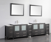 Vanity Art - Bathroom Vanity Set - VA3036-108E - Espresso