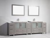 Vanity Art - Bathroom Vanity Set - VA3036-108G - Grey