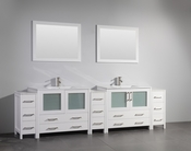 Vanity Art - Bathroom Vanity Set - VA3036-108W - White