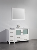 Vanity Art - Bathroom Vanity Set - VA3036-48W - White