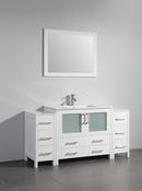 Vanity Art - Bathroom Vanity Set - VA3036-60W - White