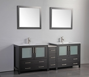Vanity Art - Bathroom Vanity Set - VA3036-84E - Espresso