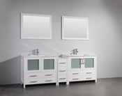 Vanity Art - Bathroom Vanity Set - VA3036-84W - White