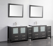 Vanity Art - Bathroom Vanity Set - VA3036-96E - Espresso