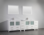 Vanity Art - Bathroom Vanity Set - VA3036-96W - White