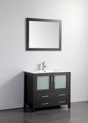 Vanity Art - Bathroom Vanity Set - VA3036E - Espresso