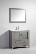Vanity Art - Bathroom Vanity Set - VA3036G - Grey