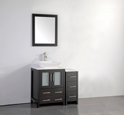 Vanity Art - Bathroom Vanity Set - VA3124-36E - Espresso