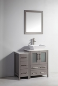 Vanity Art - Bathroom Vanity Set - VA3124-36G - Grey