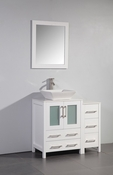 Vanity Art - Bathroom Vanity Set - VA3124-36W - White