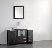 Vanity Art - Bathroom Vanity Set - VA3124-48E - Espresso