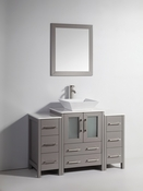 Vanity Art - Bathroom Vanity Set - VA3124-48G - Grey