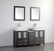 Vanity Art - Bathroom Vanity Set - VA3124-60E - Espresso