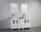 Vanity Art - Bathroom Vanity Set - VA3124-60W - White