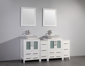 Vanity Art - Bathroom Vanity Set - VA3124-72W - White