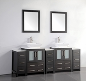 Vanity Art - Bathroom Vanity Set - VA3124-84E - Espresso