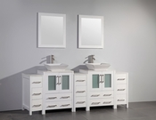 Vanity Art - Bathroom Vanity Set - VA3124-84W - White