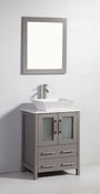 Vanity Art - Bathroom Vanity Set - VA3124G - Grey