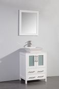 Vanity Art - Bathroom Vanity Set - VA3124W - White