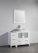 Vanity Art - Bathroom Vanity Set - VA3130-42W - White