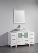 Vanity Art - Bathroom Vanity Set - VA3130-54W - White