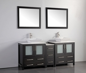 Vanity Art - Bathroom Vanity Set - VA3130-72E - Espresso