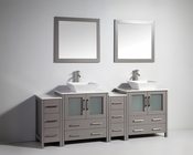 Vanity Art - Bathroom Vanity Set - VA3130-84G - Grey
