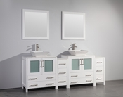 Vanity Art - Bathroom Vanity Set - VA3130-84W - White